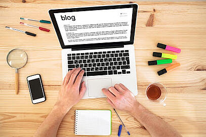 utiliza un blog