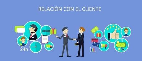 servicio y relación con el cliente