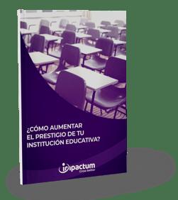 Mockup Cómo aumentar el prestigio de tu institución educativa