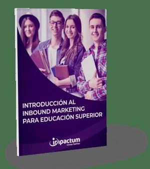 Mockup Introducción al inbound marketing para educación superior