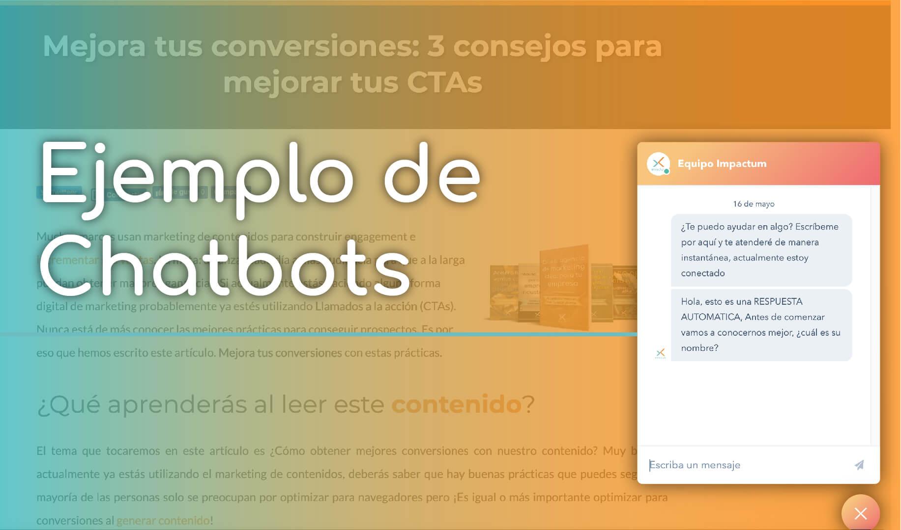 chatbots para convertir