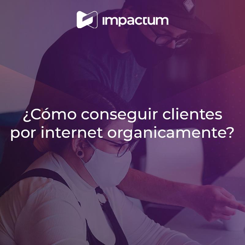 ¿Cómo conseguir clientes por internet orgánicamente?