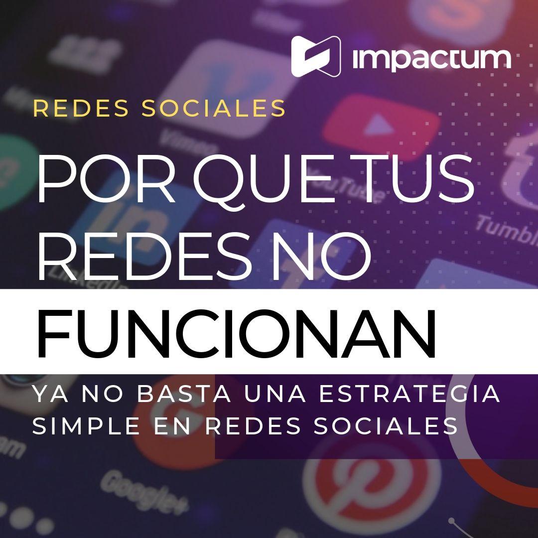 Ya no basta una estrategia de Redes Sociales