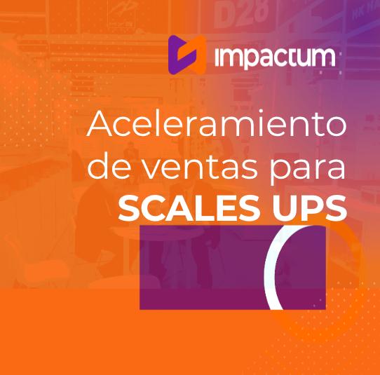Aceleramiento de ventas para ScaleUps.