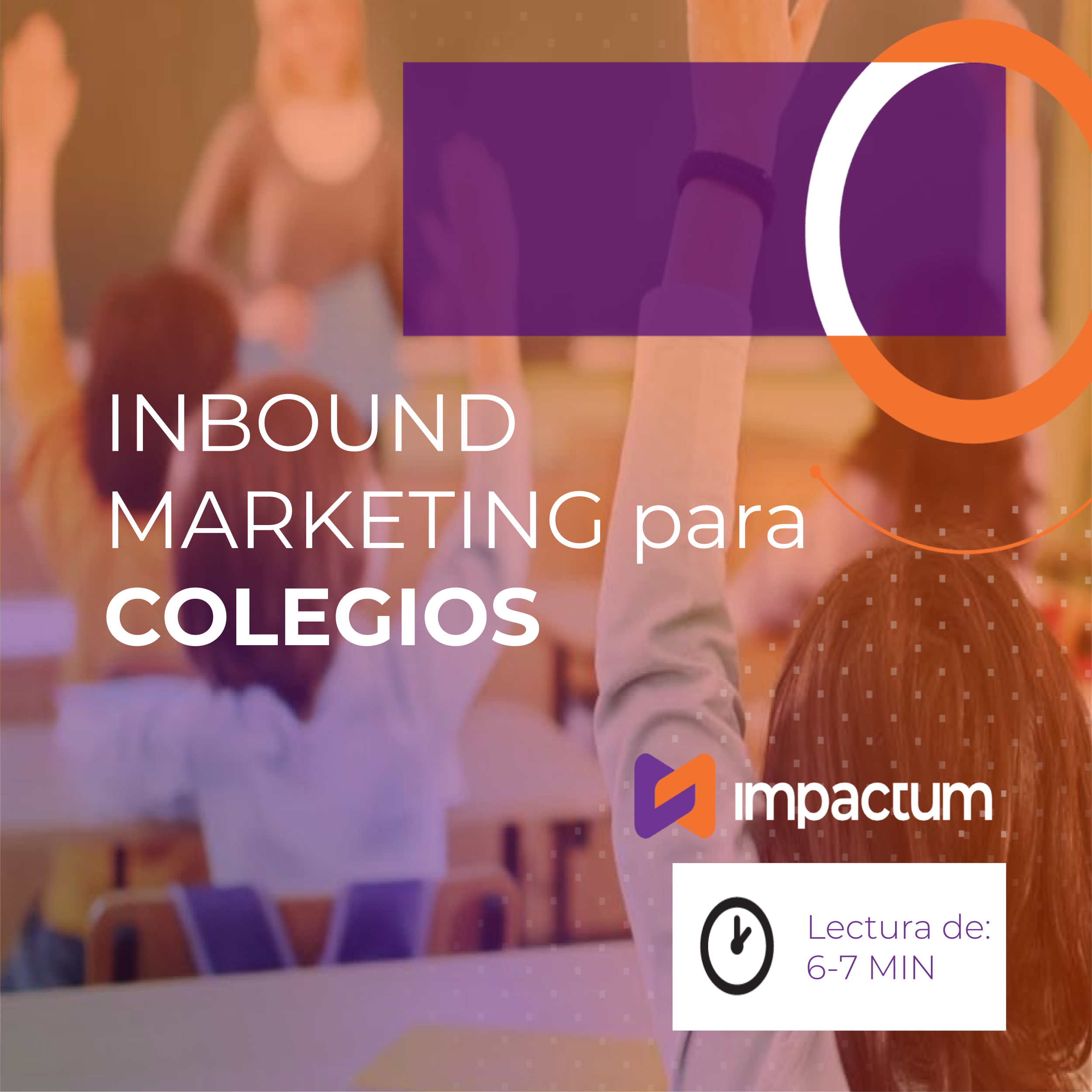 Inbound Marketing para colegios