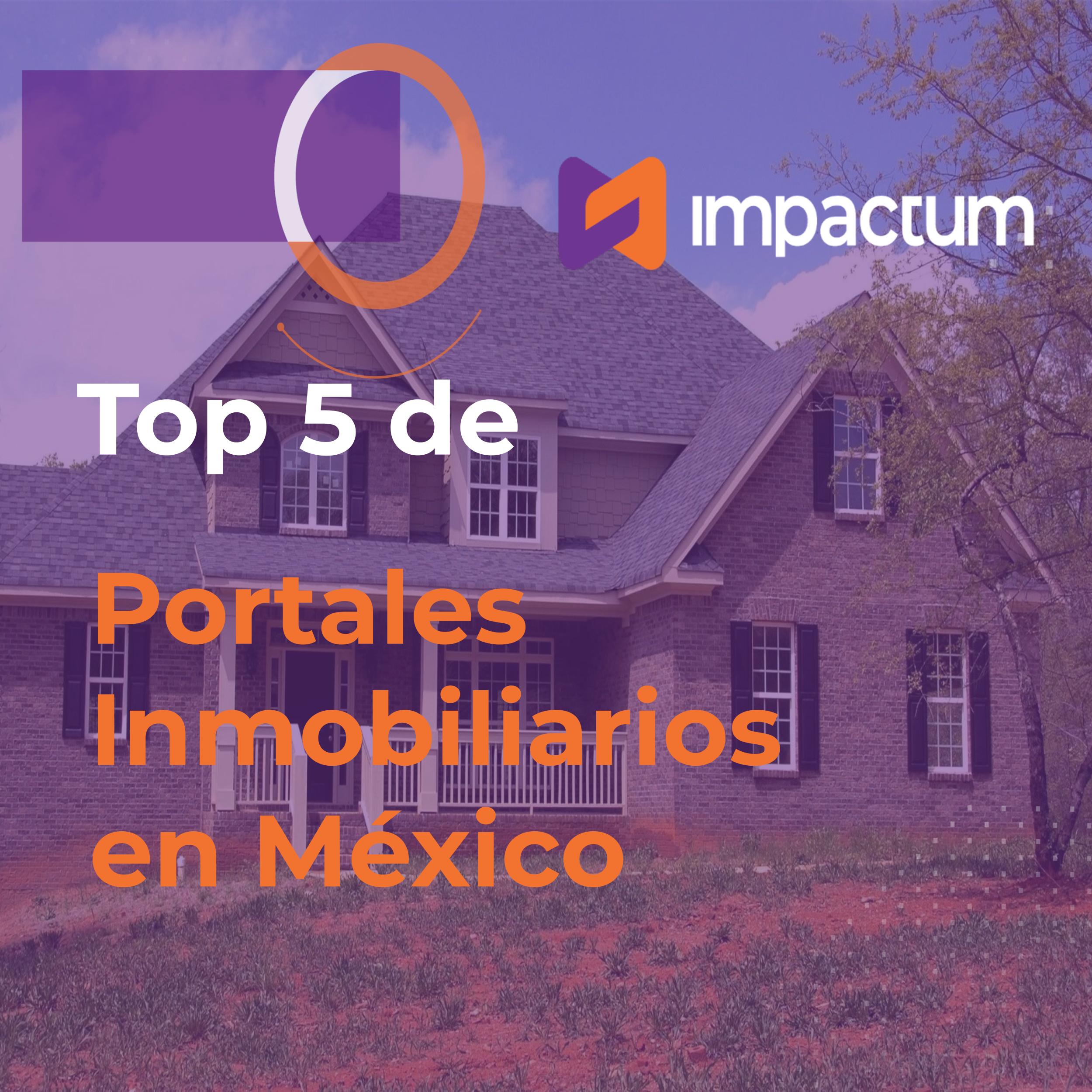Top 5 de Portales Inmobiliarios en México