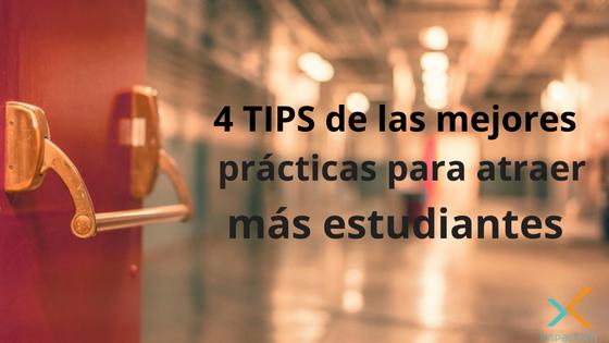 4 Tips de las mejores prácticas para atraer más estudiantes