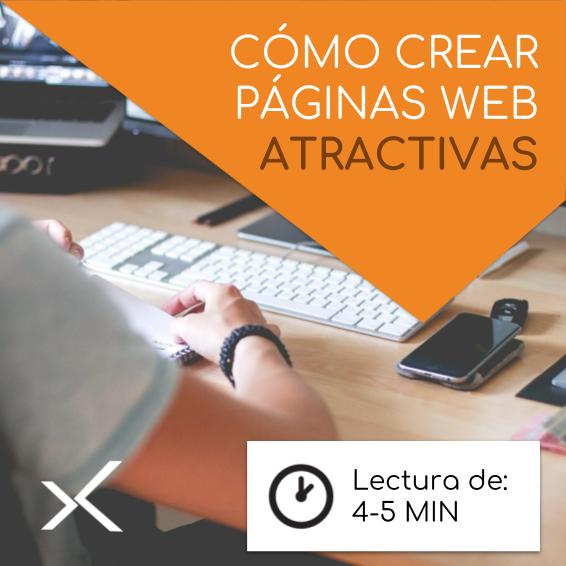 Cómo crear páginas web atractivas